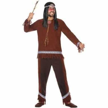 Indianen carnavalspak choctaw heren