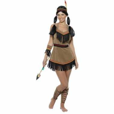 Indianen carnavalspak dames