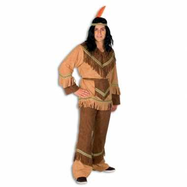 Indianen carnavalspak heren