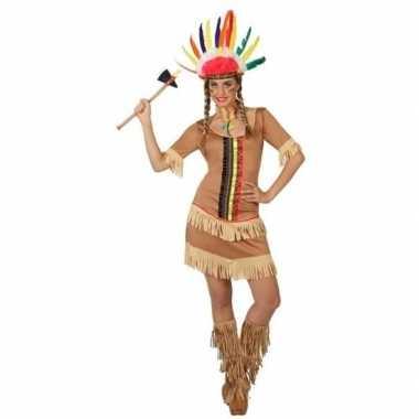 Indianen carnavalspak/jurkje manipi dames