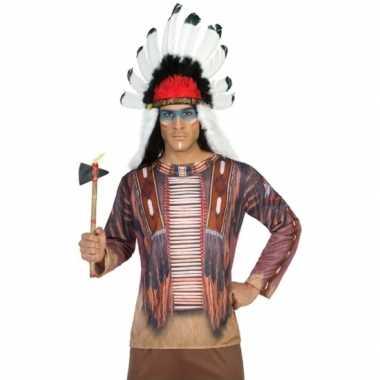 Indianen shirt verkleedcarnavalspak