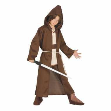 Jedi meester look a like carnaval / halloween carnavalspak kids