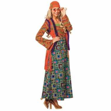 Kleurrijk hippie carnavalspak