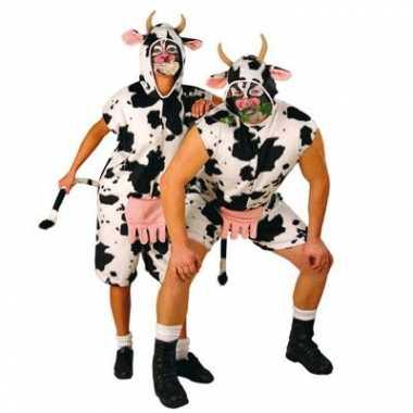 Koeien carnavalspak volwassenen