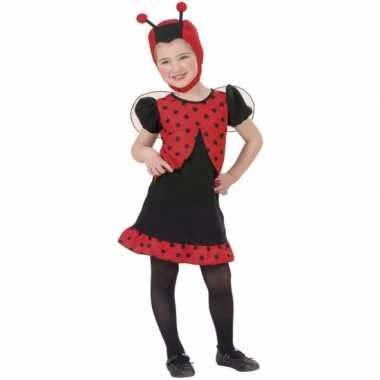 Lieveheersbeestje carnavalspaks meisjes
