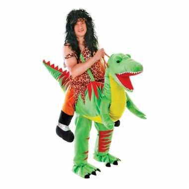 Luxe instap dinosaurus carnavalspak