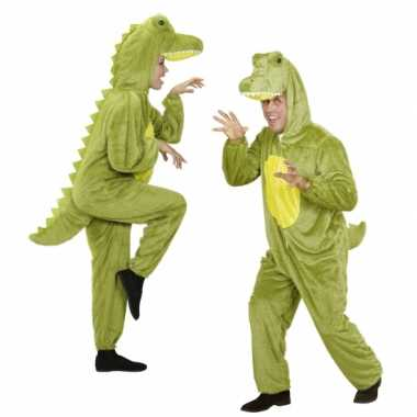 Luxe krokodillen carnavalspaks