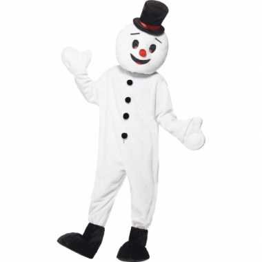 Luxe sneeuwpoppen carnavalspak