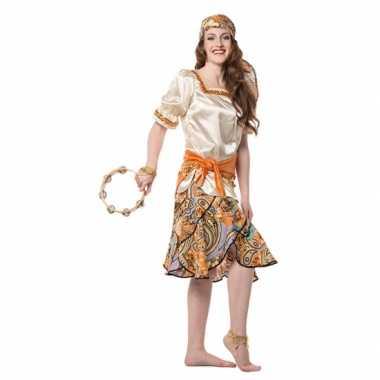Luxe zigeuner carnavalspak dames