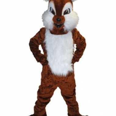 Mascotte pak eekhoorn