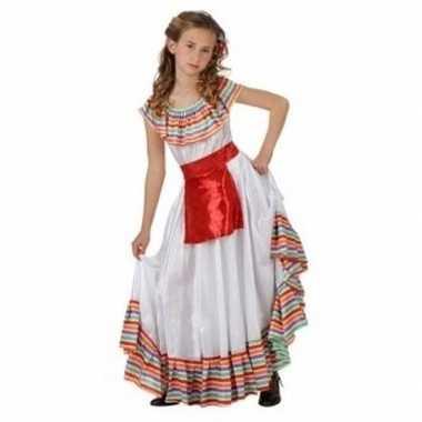 Meisjes carnavalspak mexicaanse dame