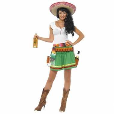 Mexicaanstequila carnavalspak dames
