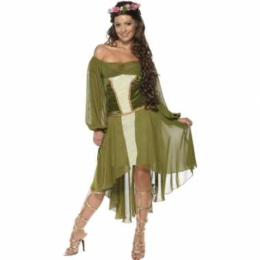 Middeleeuws carnavalspak dames