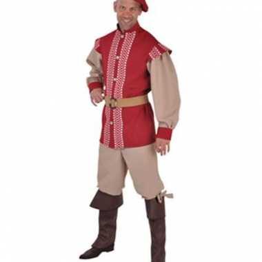 Middeleeuwse carnavalspaks mannen