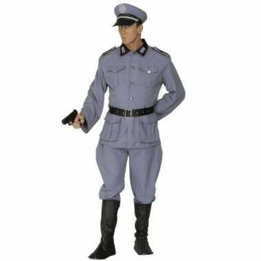 Militairen uniform carnavalspak
