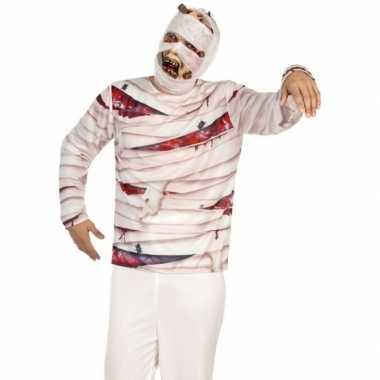 Mummie shirt verkleedcarnavalspak
