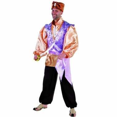 Nacht luxe sultan carnavalspak