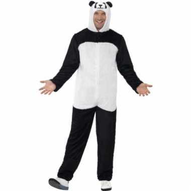 Panda carnavalspak volwassen