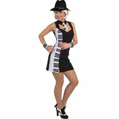 Piano carnavalspak dames