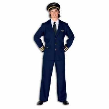 Piloot carnavalspak heren