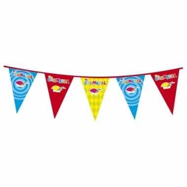 Plastic carnaval vlaggenlijnen