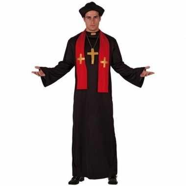 Priester carnavalspak volwassenen