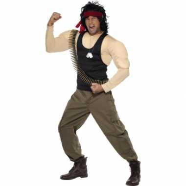 Rambo carnavalspak volwassenen