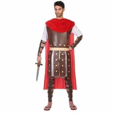 Romeinse gladiator marcus carnavalspak/set heren
