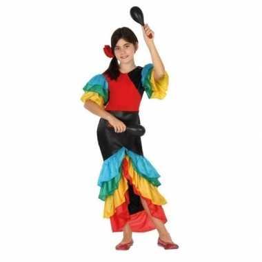 Samba/rumba/flamenco dans carnavalspak meisjes