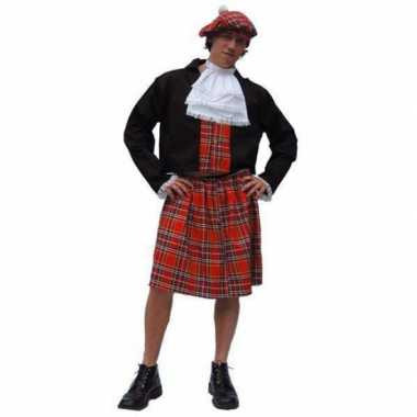 Schots heren carnavalspak