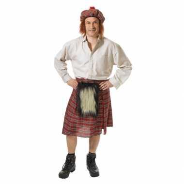 Schotse carnavalspaks heren