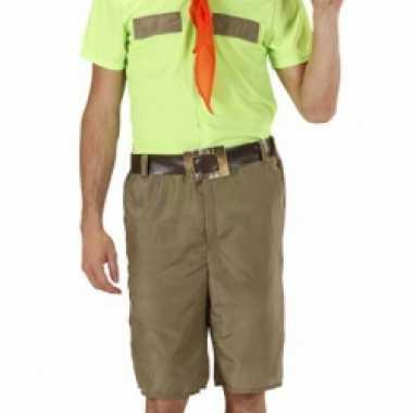 Scouting carnavalspak heren