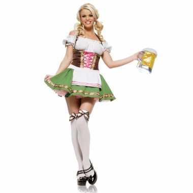 Sexy carnavalspak Heidi jurkje