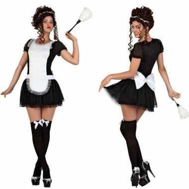 Sexy dienstmeisje carnavalspak dames