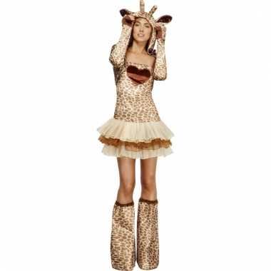 Sexy giraffe carnavalspak dames