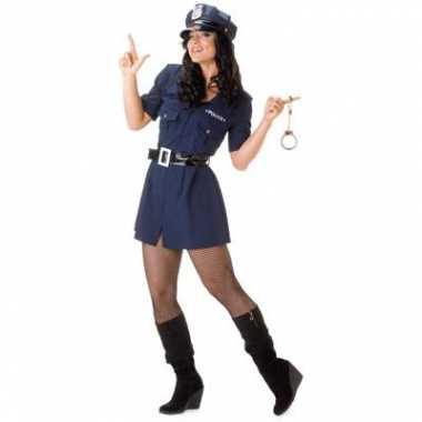 Sexy politie carnavalspak dames