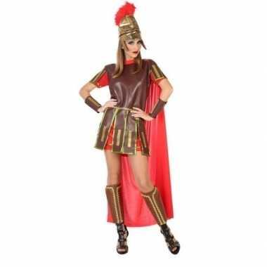 Sexy romeinse gladiator felicia carnavalspak/jurk dames
