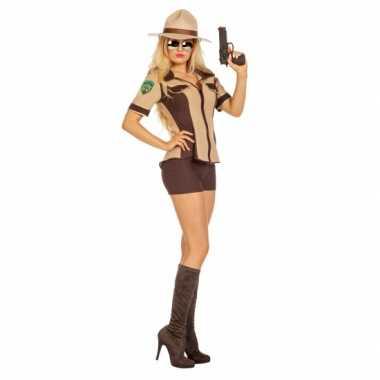 Sexy sheriff carnavalspak dames