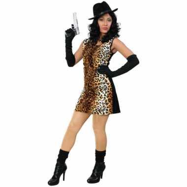 Sexy tijger gangster carnavalspak