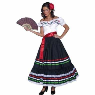 Spaanse danseres carnavalspak dames