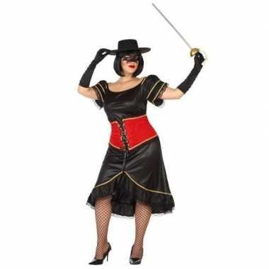 Spaanse heldin verkleedcarnavalspak dames