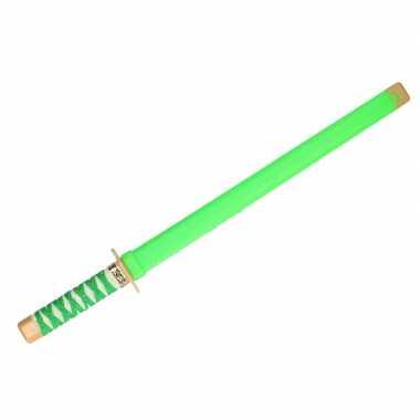 Speelgoed ninja zwaard groen carnaval