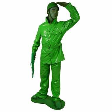 Speelgoed soldaat morphsuit carnavalspak