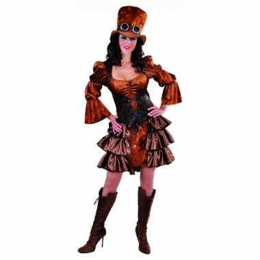 Steampunk carnavalspak dames