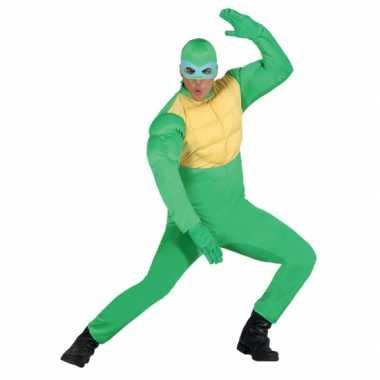 Turtle carnavalspak heren