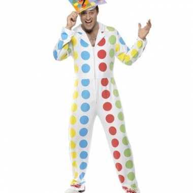 Twister carnavalspak heren