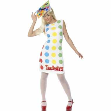 Twister carnavalspaks vrouwen