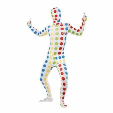 Twister carnavalspak verkleed pak volwassenen