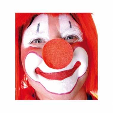 X stuks carnaval neus/neuzen rood