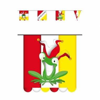 X stuks vlaggenlijn carnaval oeteldonk meter